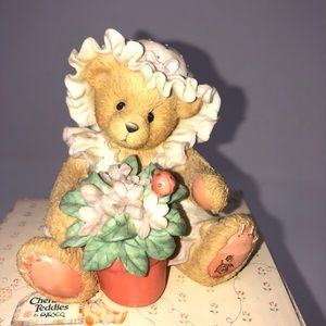 Cherished Teddies 1995 156280 Violet
